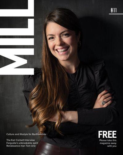 Paisley and Renfrewshire culture and lifestyle magazine November December 2020 Kari Corbett