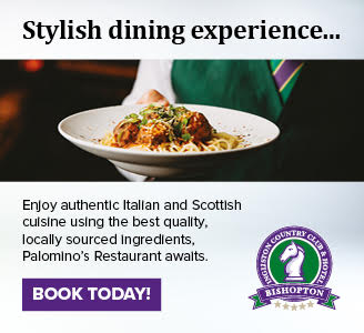 Italian food on plate carried by waiting staff