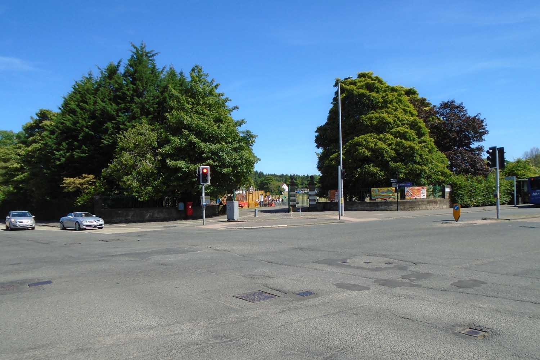 Barshaw Park junction