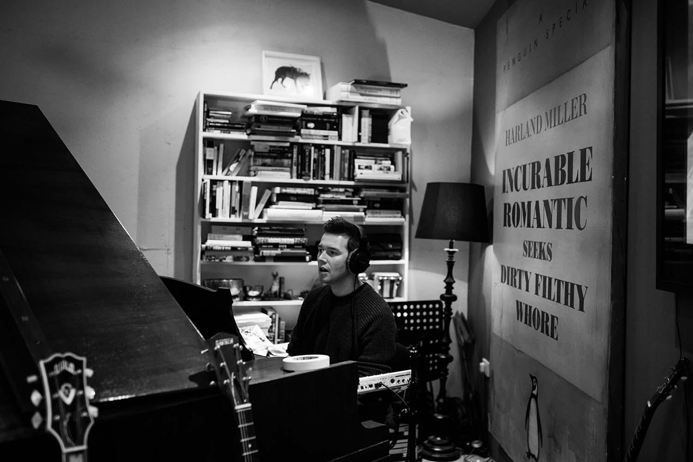David Sneddon recording music